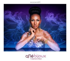 Mario Epanya - MUA Valérie Blacodon - Aflé Bijoux