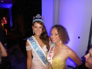 Avec la Miss World 2014