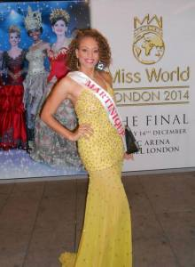 Anaïs à Miss World